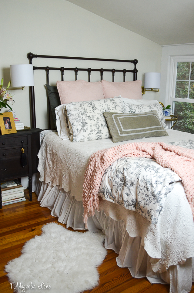 Pink in the Master Bedroom and A New Mattress | 11 Magnolia Lane