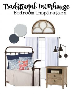 Traditional farmhouse style bedroom inspiration | 11 Magnolia Lane