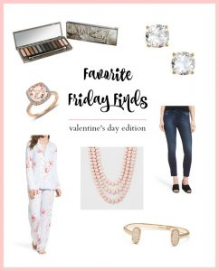 Fun favorites for Valentine's day including sale picks and fashion finds for women over forty