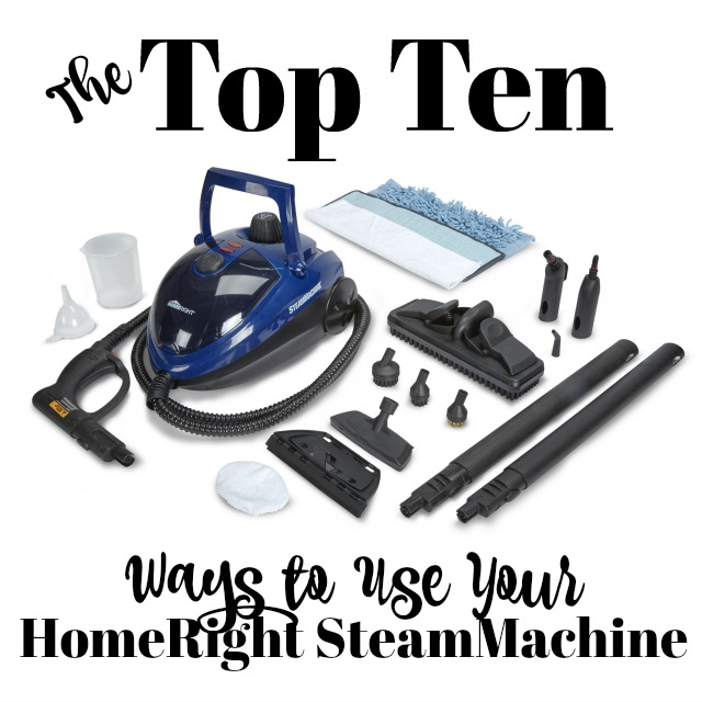 Top 10 Ways to Use Your HomeRight SteamMachine | 11 Magnolia Lane