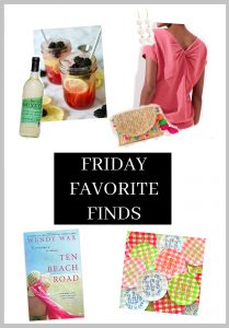 Friday Favorite Finds