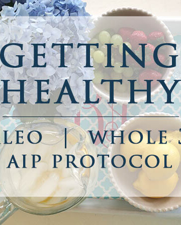 A collection of recipes and eating plan with menus for the Paleo Autoimmune Protocal diet.