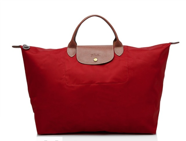 Longchamp Le Pliage Weekender Travel Tote