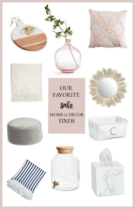 The best home decor finds on sale from the 2018 Nordstrom Anniversary sale, including great gift ideas for weddings, showers or friends.