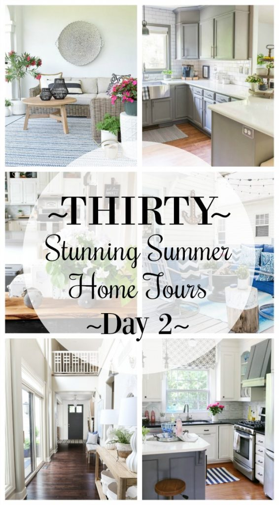 Thirty Stunning Summer Home Tours -Day 2