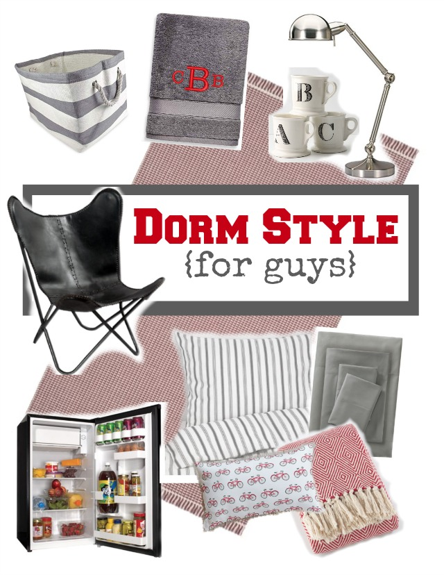 Dorm decor style ideas for guys | 11 Magnolia Lane
