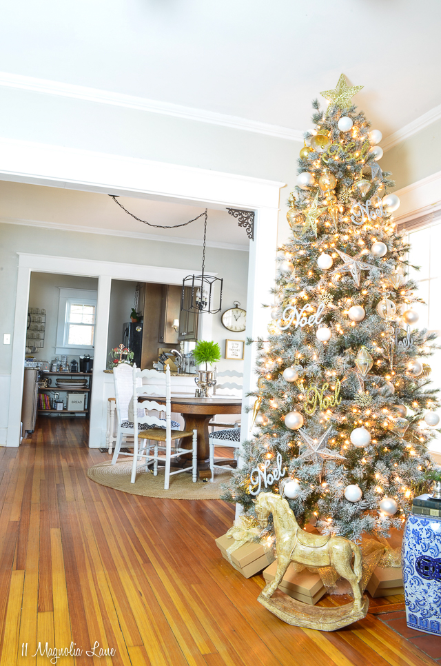 11 Magnolia Lane 2018 Holiday Home Tour | Christy's House