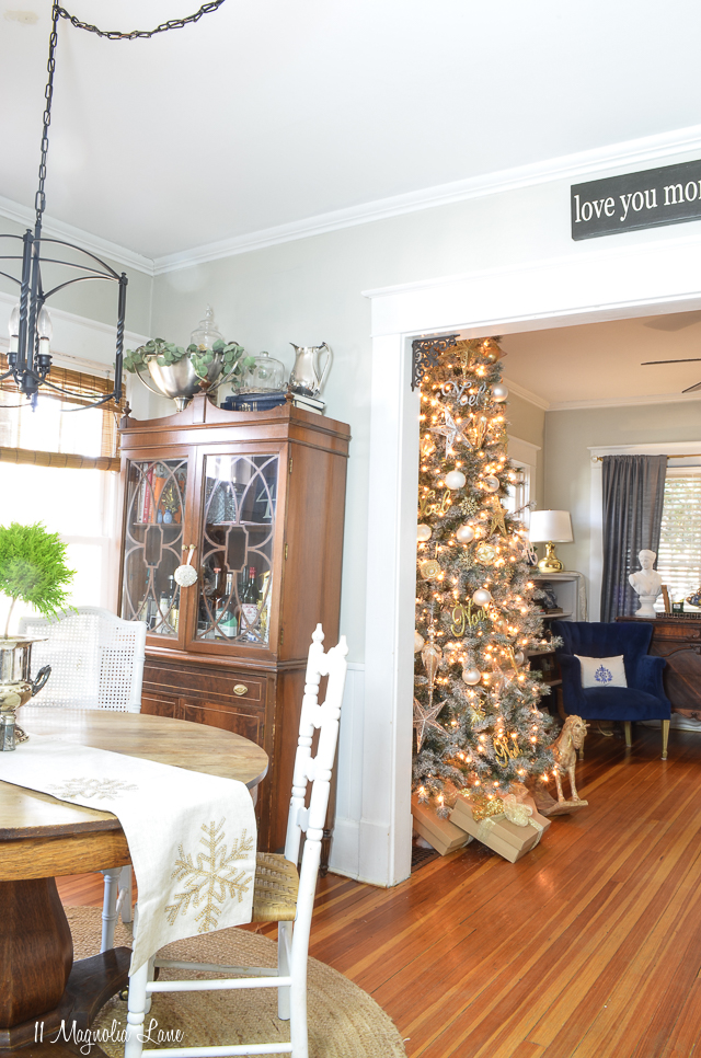 11 Magnolia Lane 2018 Holiday Home Tour | Christy's House