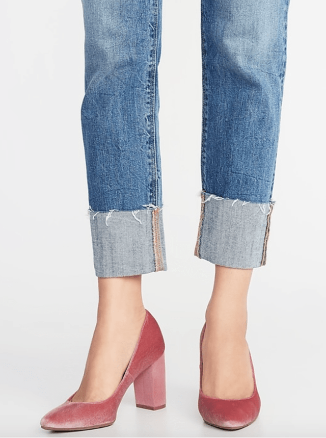 Old Navy velvet pumps