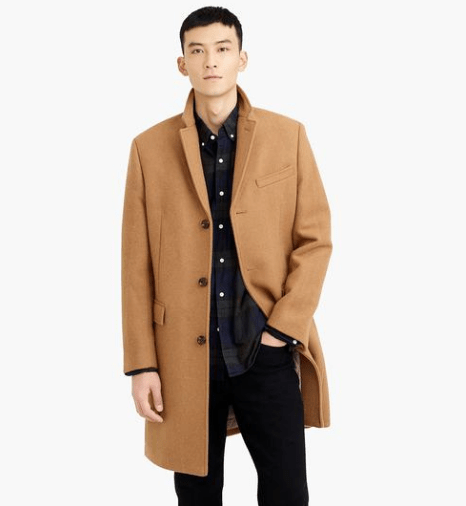 J Crew Wool Top Coat