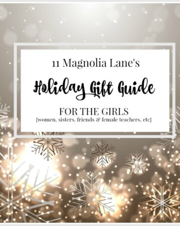 Holiday Gift Guide for The Girls: Women, Sisters, Friends, Mothers Etc.