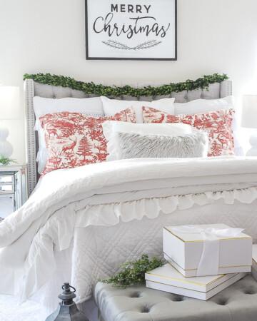 Christmas Decor Bedroom Tour
