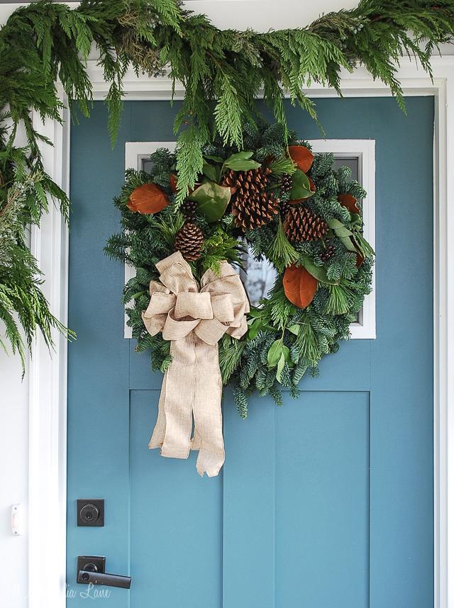 Holiday Wreath Giveaway With Lynch Creek Farm 11 Magnolia Lane