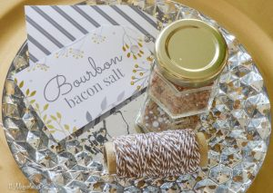 Bourbon Bacon Salt-easy DIY gift recipe-free printable labels | 11 Magnolia Lane