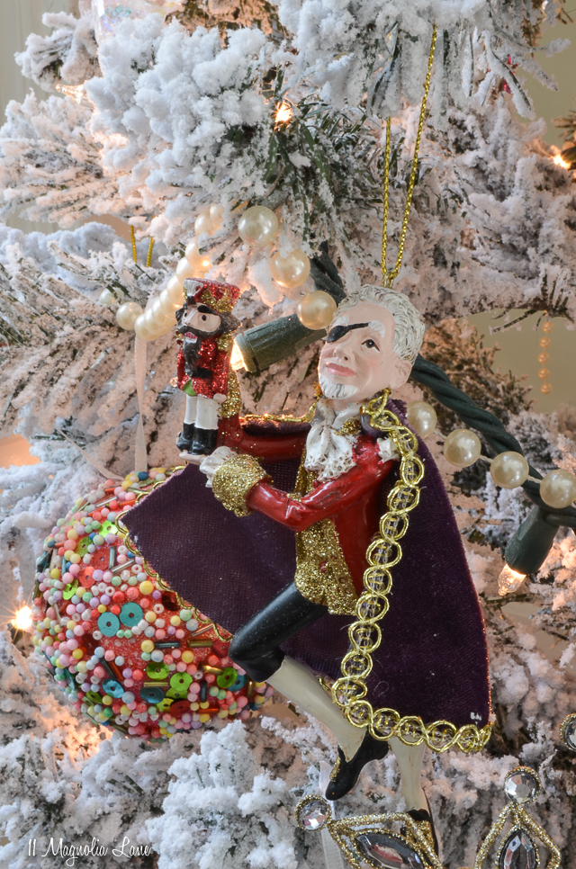 Nutcracker Suite Ballet Themed Christmas Tree-Drosselmeyer | 11 Magnolia Lane
