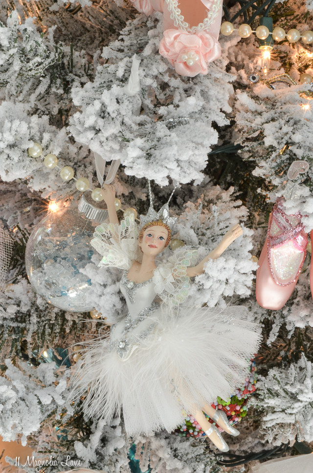 Nutcracker Suite Ballet Themed Christmas Tree-Snow Queen | 11 Magnolia Lane