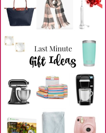 Last Minute Gifts for Everyone on your List (with Shipping Dates)