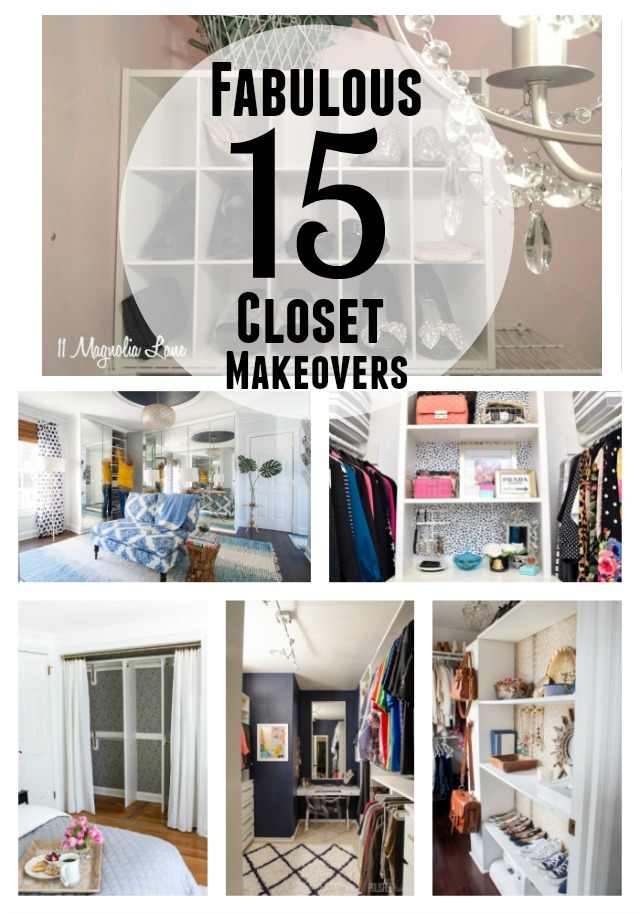 15 Fabulous Closet Makeovers | 11 Magnolia Lane