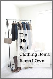 My Ten Favorite Winter Clothing Items {The Things I Wear the Most}