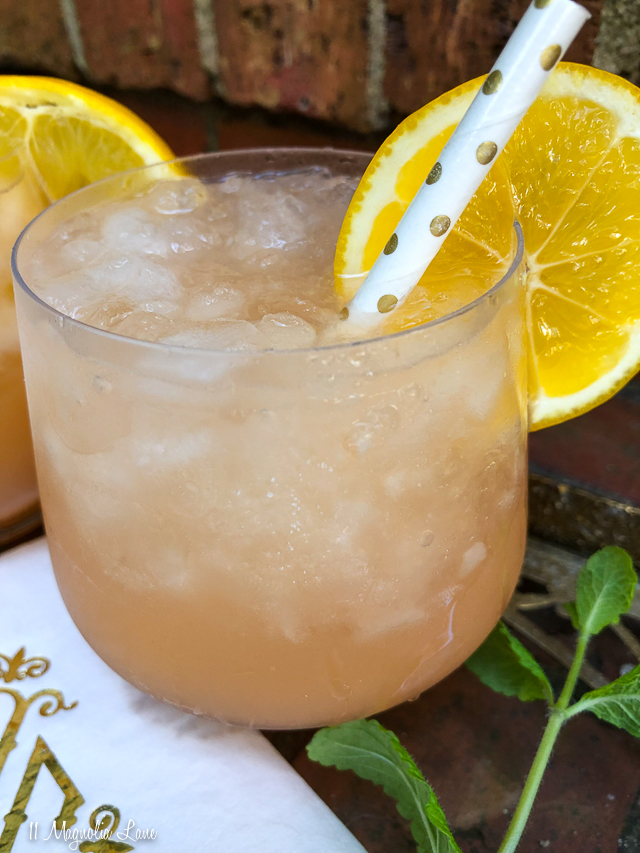 Grapefruit Tonic Cocktail Recipe | 11 Magnolia Lane