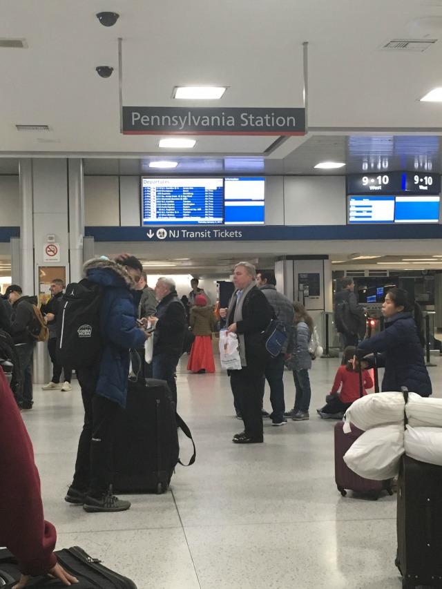 Lost bag on NJ Transit