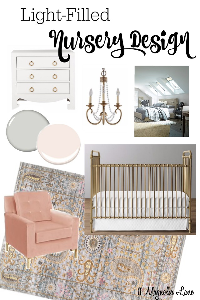 Nursery Design Board | 11 Magnolia Lane