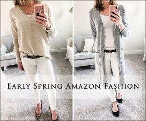 Early Spring Amazon Fashion Haul