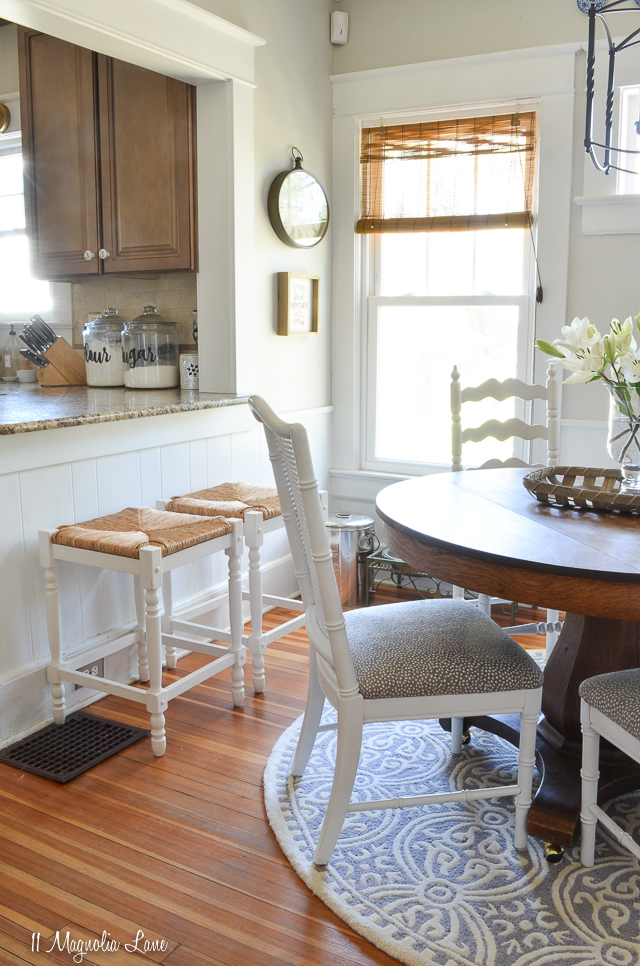 Spring dining room updates in the MCC House | 11 Magnolia Lane