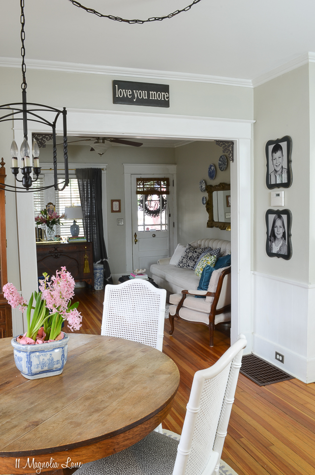 Easy tips for decorating a rental home | how to decorate a small rental | 11 Magnolia Lane