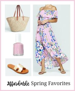 Favorites for Spring or Spring Break (& An Easter Dress)