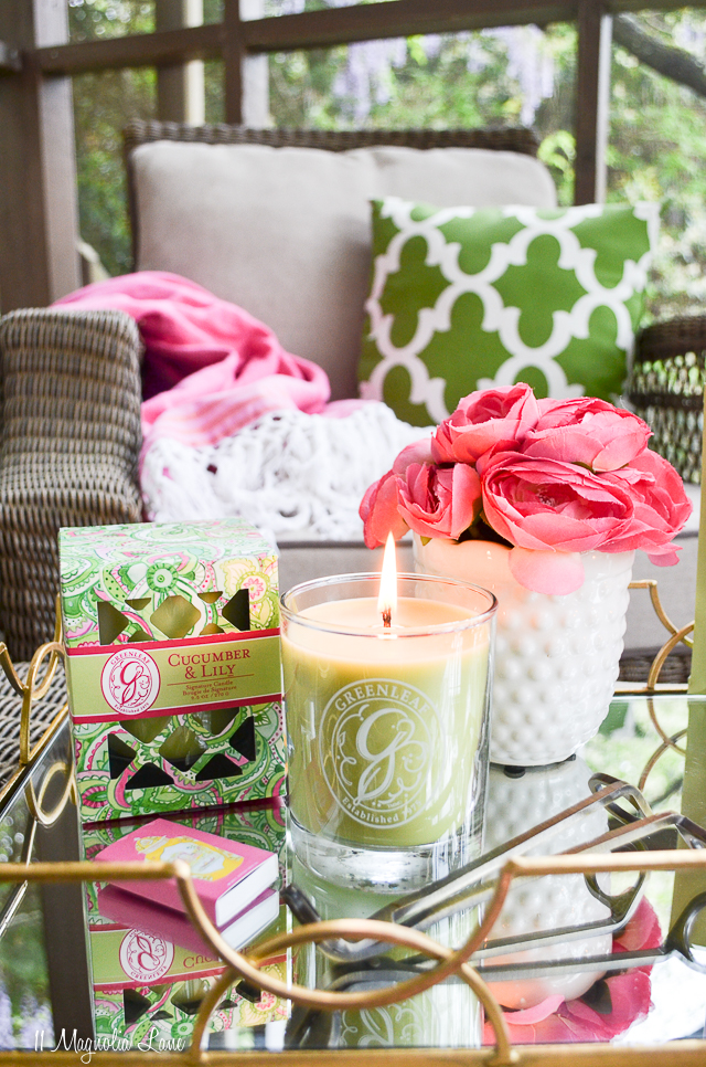 Greenleaf Gifts Cucumber & Lily | 11 Magnolia Lane