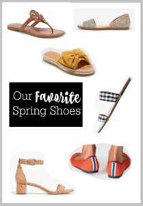Our favorite spring shoes