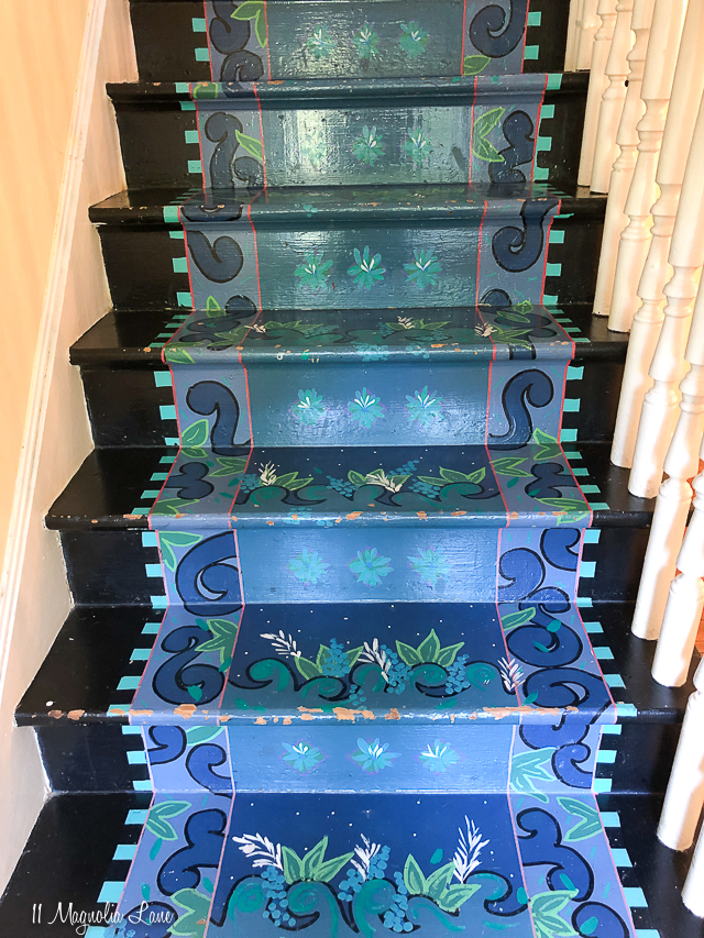 Magnolia Cottage-stairs