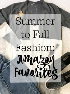 Summer to fall Amazon fashion | 11 Magnolia Lane