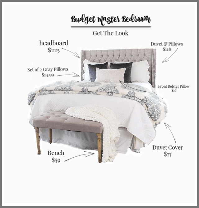 How To Decorate Your Master Bedroom On A Budget | 11 ...