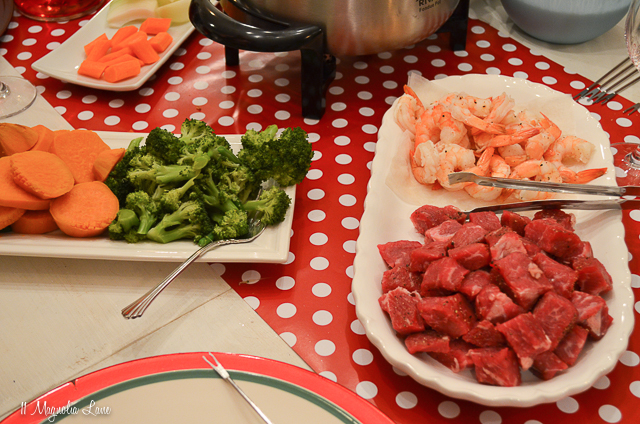 Festive Family Meal: Fondue