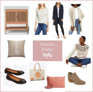 Friday winter fashion and home sale finds