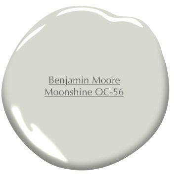 Benjamin Moore Moonshine Paint color