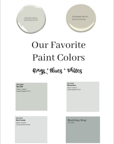 Best Gray neutral paint colors for walls and cabinets