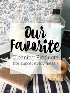My All Time Favorite Cleaning Products