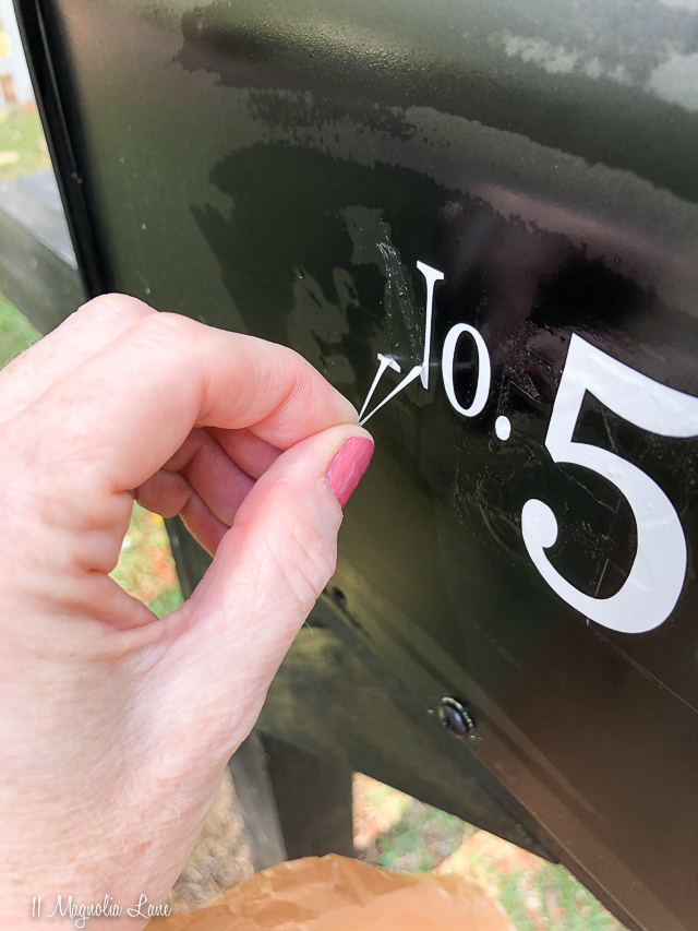 How to make your mailbox look brand new | 11 Magnolia Lane
