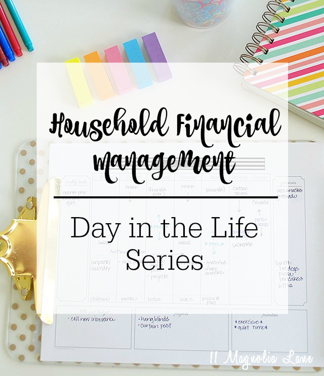 Easy tips for streamlining the household bill paying and financial management process | 11 Magnolia Lane