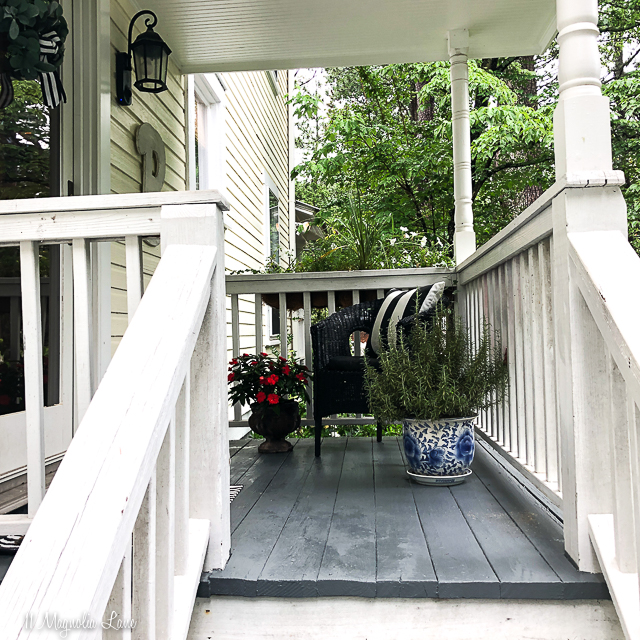The fastest way to paint a porch | 11 Magnolia Lane