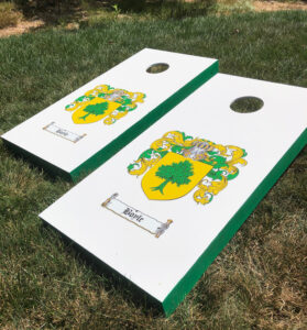How To DIY Custom Corn Hole Game Boards