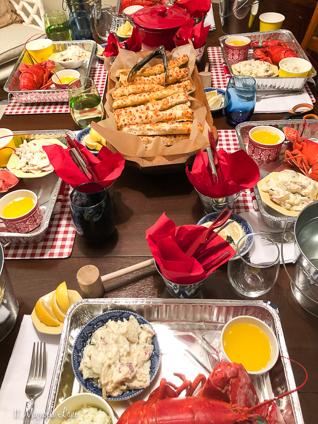 Lobster Dinner Party
