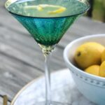 The very best lemon martini summer cocktail recipe
