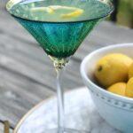 The very best lemon martini summer cocktail recipe