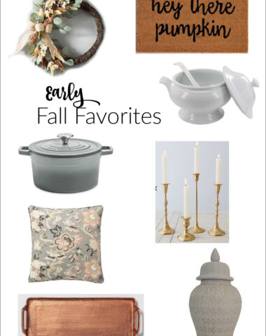 Early Fall Decor Finds for the Home