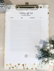 Preparing for the Holiday and Amazon Prime Day {+ Gift Idea List Printable}