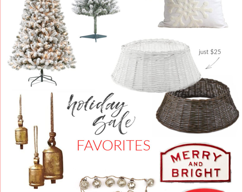 The very best deals on popular Christmas home decor items